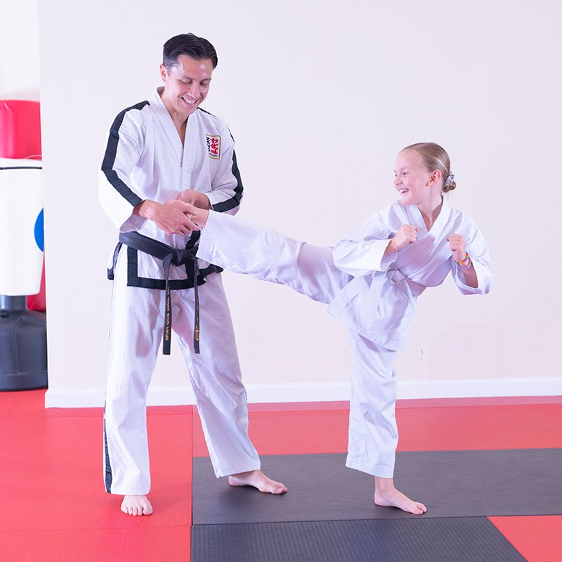 Grand Master Zang with student